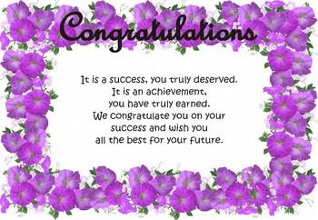 Certificate of Appreciation, Certificate of Award - School - Editable