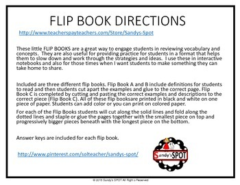 FLIP BOOK CONGRUENT NONCONGRUENT  VIRGINIA SOL 3.16
