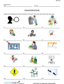 CONJUGATING -ER VERBS REVIEW (FRENCH)