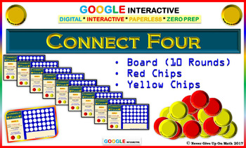 CONNECT FOUR - BOARD & CHIPS Google Interactive