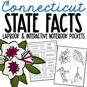 CONNECTICUT State History Lapbook Project, State Symbols, Stress-Free Design
