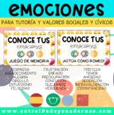 CONOCE TUS EMOCIONES: Pack de 2 sets de tarjetas