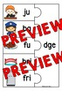 CONSONANT DIGRAPHS SORT CENTER (WORD WORK ACTIVITY 1ST GRADE, KINDERGARTEN)