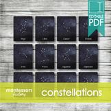 CONSTELLATIONS   MONTESSORI Printable Nomenclature Three P