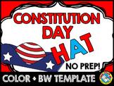 CONSTITUTION DAY ACTIVITY KINDERGARTEN PATRIOTIC CRAFT HAT TEMPLATE CROWN