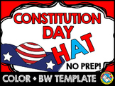 CONSTITUTION DAY ACTIVITY (PATRIOTIC CRAFT HAT TEMPLATE)
