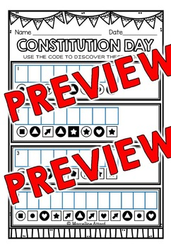 CONSTITUTION DAY ACTIVITIES: CONSTITUTION DAY PRINTABLES: WORD SEARCH & MORE