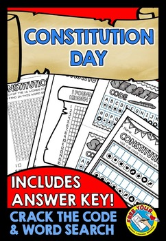 CONSTITUTION DAY ACTIVITIES: CONSTITUTION DAY PRINTABLES: