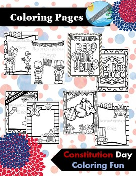 Constitution Day Coloring Pages Activities By Teaching Kiddos 1