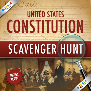 CONSTITUTION DAY SCAVENGER HUNT: Google Drive Edition