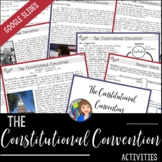 CONSTITUTIONAL CONVENTION Readings and Doodle Notes
