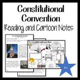 CONSTITUTIONAL CONVENTION Readings and Cartoon Notes Modified for ELL or SPED