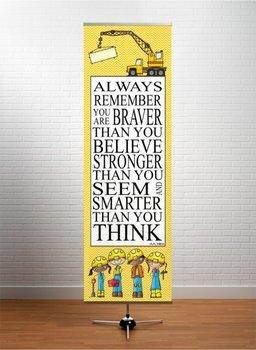 CONSTRUCTION - Classroom Decor: XLARGE BANNER, Always Remember