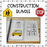 CONSTRUCTION THEMED ACTIVITY BUNDLE