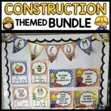 CONSTRUCTION THEMED Multi-Colored Classroom Printable DECO