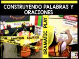 CONSTRUYENDO PALABRAS Y ORACIONES in Kindergarten