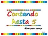 CONTANDO HASTA 5, 40 actividades en español