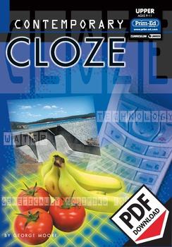 CONTEMPORARY CLOZE: UPPER EBOOK (Y5/P6, Y6/P7)