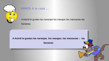 CONTEST: grammar in Spanish / punctuation, capitalization/puntuación, mayúsculas