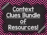 CONTEXT CLUES: Bundle of Resources-PowerPoint, Materials, Assessment