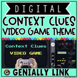 CONTEXT CLUES DIGITAL GAME for 2ND & 3RD