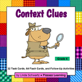 CONTEXT CLUES TASK CARDS • GRADE 4