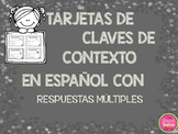 CONTEXT CLUES TASK CARDS IN SPANISH