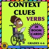 CONTEXT CLUES • VERBS • BOOM CARDS