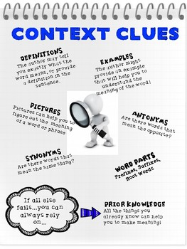 CONTEXT and WORD CHOICE - Reading Literature Toolkit - RL.6.4