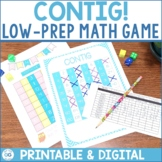 Math Game: CONTIG| Common Core Aligned | Low-Prep | Digita