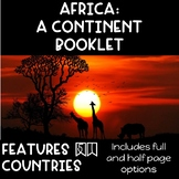CONTINENT BOOKLET: Africa