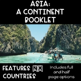 CONTINENT BOOKLET: Asia