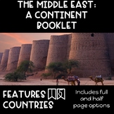 CONTINENT BOOKLET: The Middle East