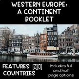 CONTINENT BOOKLET: Western Europe