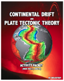 CONTINENTAL DRIFT and PLATE TECTONIC THEORY ACTIVITY PACKET (NGSS ESS1.C ESS2.B)