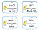 CONTRACTIONS GAME | Task Cards | I have . . . Who has?  Gr 4 CORE REVIEW
