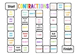 CONTRACTIONS BOARD GAME (Small Group Activity) HIGH RESOLUTION