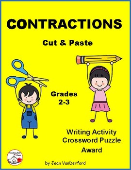 CONTRACTIONS ... Cut and Paste Worksheets ... Gr. 2-3