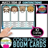 CONTRACTIONS - SORT IT OUT | Boom Cards™ - Distance Learning