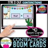 CONTRACTIONS - SORT IT OUT   Boom Cards™ - Distance Learning