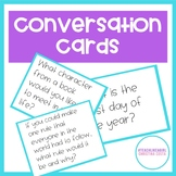 CONVERSATION CARDS - Strategies to Get Kids Talking!