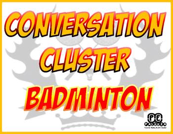 CONVERSATION CLUSTER / WORD WALL BADMINTON