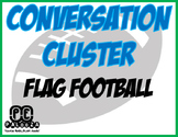 CONVERSATION CLUSTER / WORD WALL FLAG FOOTBALL