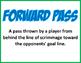 CONVERSATION CLUSTER / WORD WALL FLAG FOOTBALL