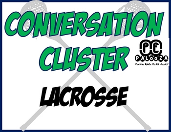 CONVERSATION CLUSTER / WORD WALL LACROSSE