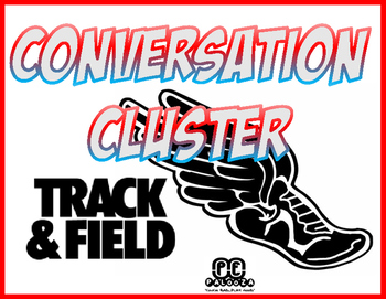 CONVERSATION CLUSTER / WORD WALL TRACK AND FIELD