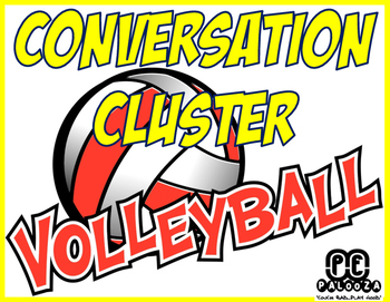 CONVERSATION CLUSTER / WORD WALL VOLLEYBALL