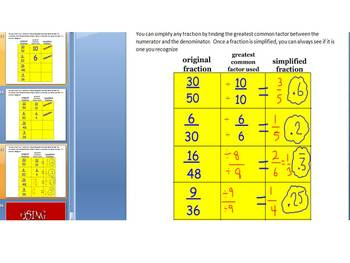 CONVERTING FRACTIONS TO DECIMALS - R.E.D.S STYLE (POWERPOINT & WSs)