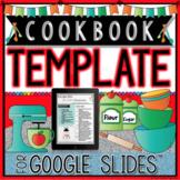 COOKBOOK TEMPLATE IN GOOGLE SLIDES™