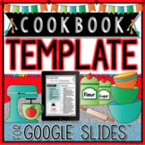 COOKBOOK TEMPLATE IN GOOGLE SLIDES™